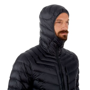 Men jacket Mammut Broad Peak IN Hooded, 00189 black-phantom, Mammut