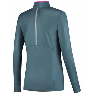 Women running hoodie Rogelli MARBLE with fine insulation, gray-pink 840.652, Rogelli