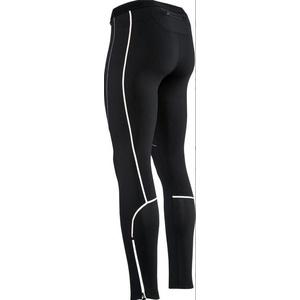Men elastic insulated pants Silvini RUBENZA MP1313 black, Silvini