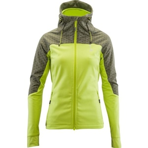 Women softshell jacket Silvini Rope WJ1304 lime, Silvini