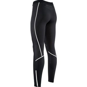 Women elastic insulated pants with padding Silvini RUBENZA WP1315 black, Silvini