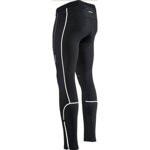 Men elastic insulated pants Silvini RUBENZA MP1319 black, Silvini