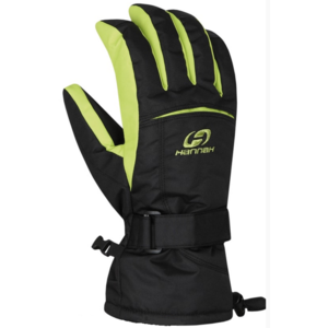 Gloves HANNAH Brion anthracite / lime punch, Hannah