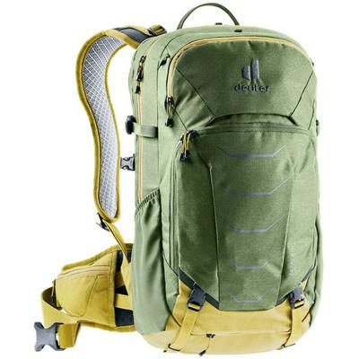 Cycling backpack Deuter Attack 20 khaki / turmeric, Deuter