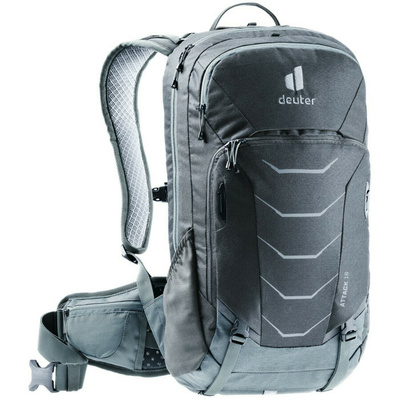Cycling backpack Deuter Attack 16 graphite / shale, Deuter