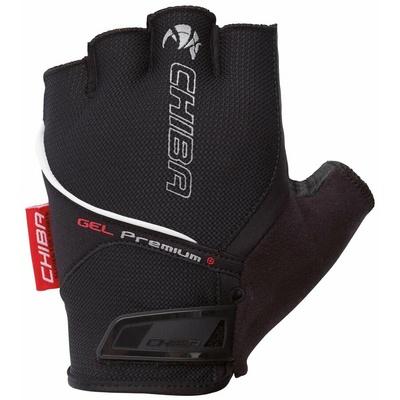 Bike gloves Chiba GEL PREMIUM with gel palms, black 30117.10, Chiba