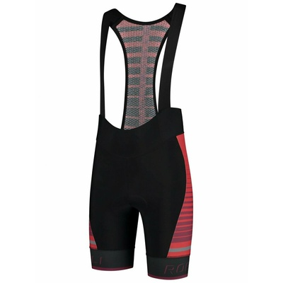 Cycling shorts Rogelli HERO with gel lining, black and red 002.238, Rogelli