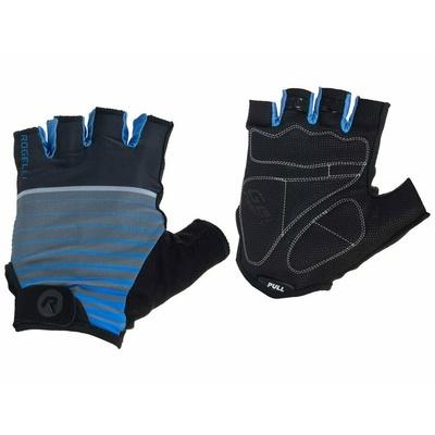 Cycling gloves Rogelli HERO, black and blue 006.962, Rogelli