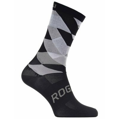 Design functional socks Rogelli SCALE 14, black and white 007.151, Rogelli