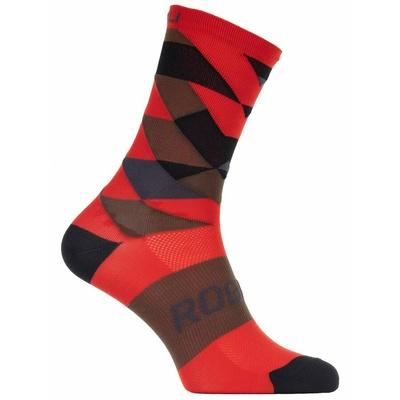 Design functional socks Rogelli SCALE 14, red 007.153, Rogelli