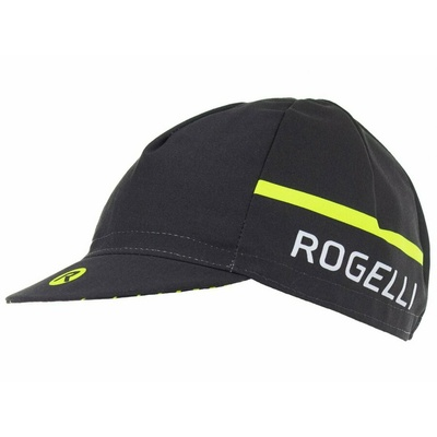 Cycling cap under the helmet Rogelli HERO, black-reflective yellow 009.971, Rogelli