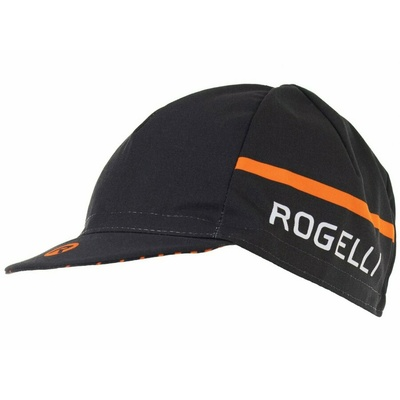 Cycling cap under helmet Rogelli HERO, black-orange 009.974, Rogelli