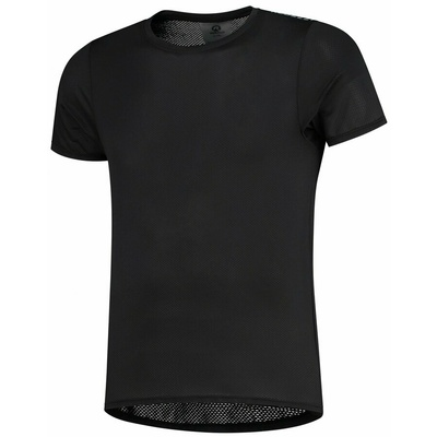 Extremely functional sports t-shirt Rogelli KITE with short sleeve, black 070.015, Rogelli