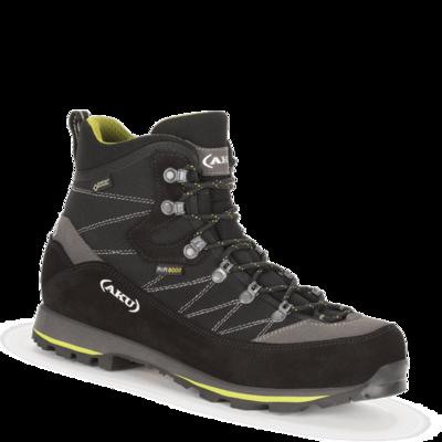 Men boots AKU Trekker Lite 3rd GTX black / green, AKU