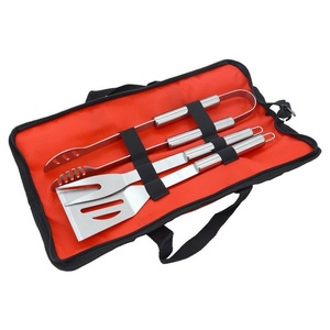 BBQ tools set 3ks Cattara textiles bag, Cattara