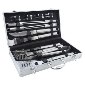 BBQ tools set 18ks Cattara ALU case, Cattara