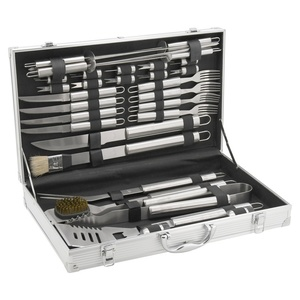 BBQ tools set 30ks Cattara ALU case, Cattara