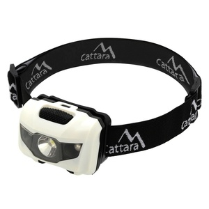 Headlamp Compass LED 80lm black white, Compass