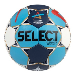 Handball ball Select HB Ultimate Replica Champions League Men white blue, Select