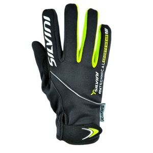 Women gloves Silvini ORTLES WA723 black, Silvini