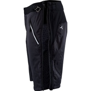 Men shorts primaloft Silvini Barrel MP1303 black, Silvini