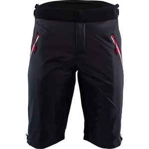 Men shorts primaloft Silvini Barrel MP1303 black-red, Silvini