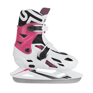 Winter skates Spokey RIPPLE white-pink adjustable, Spokey