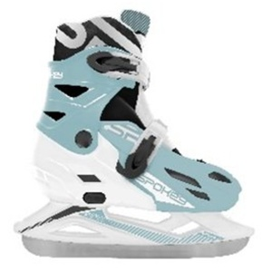 Winter skates Spokey RIPPLE white, Spokey