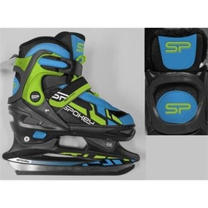 Skates Spokey MELT 4IN1 black and green adjustable, Spokey