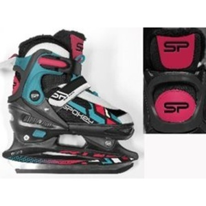 Skates Spokey FEAT 4IN1černo-zelené adjustable, Spokey