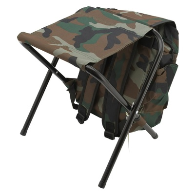 Chair folding with backpack Cattara OLBIA ARMYR, Cattara
