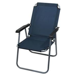Chair campsite folding Cattara LYON dark blue, Cattara