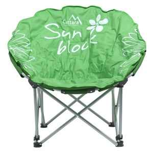 Chair campsite folding Cattara FLOWERS green, Cattara