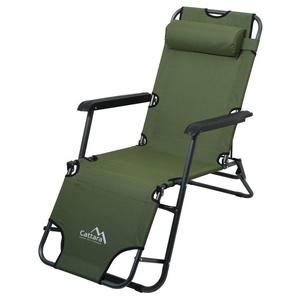 Lounger / armchair Cattara COMFORT green, Cattara