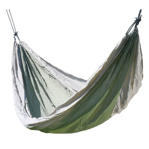 Hammock net to sitting Cattara NYLON 275x137cm green-brown, Cattara