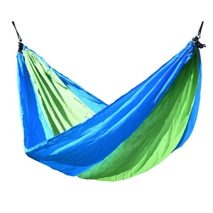 Hammock net to sitting Cattara NYLON 275x137cm green-blue, Cattara