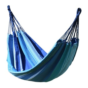 Hammock net to sitting Cattara TEXTILES 200x100cm blue-white, Cattara
