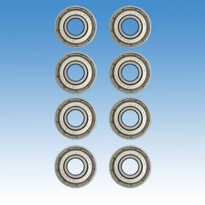 Set Bearings Tempish ABEC 7 Chrome Top Speed (8 pc), Tempish