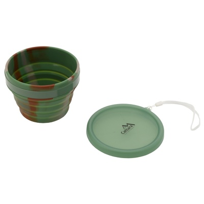 Silicone folding bowl Cattara ARMY 550ml, Cattara
