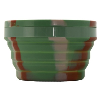 Silicone folding bowl Cattara ARMY 950ml, Cattara