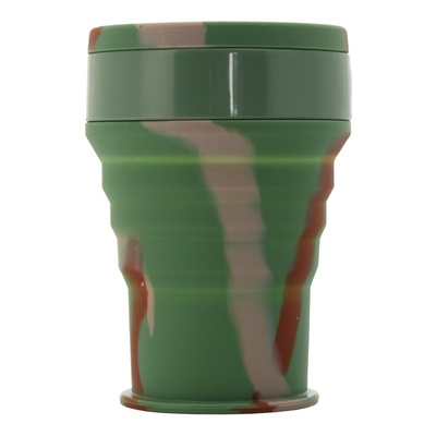 Silicone folding crucible Cattara ARMY 350ml, Cattara