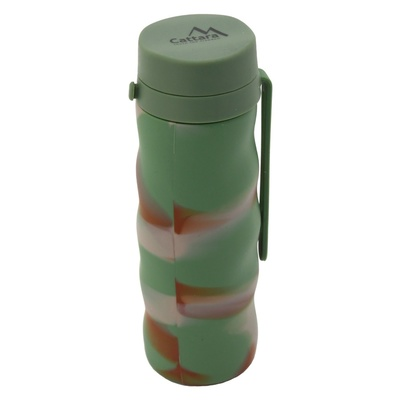 Silicone bottle Cattara ARMY 550ml, Cattara