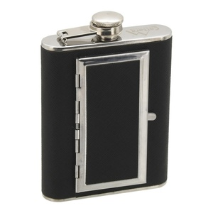 Flask Cattara 175ml with case to cigars, Cattara