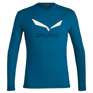 T-Shirt Salewa SOLIDLOGO DRY M L/S TEE 27340-8366, Salewa