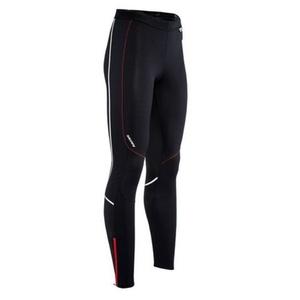Men elastic pants Silvini MOVENZA MP1312 black red, Silvini