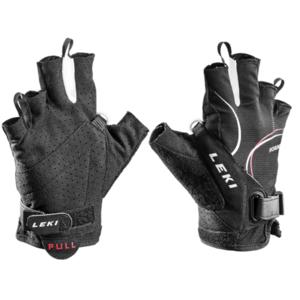 Gloves LEKI Nordic Lite Shark Short 63690103 black-white-red, Leki