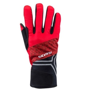 Winter gloves Silvini Arno UA1307 red, Silvini
