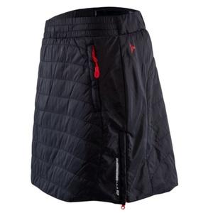 Women insulated skirt Silvini Cucca WS744 black red, Silvini