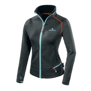 Women hoodie Ferrino Tailly Jacket Woman black, Ferrino