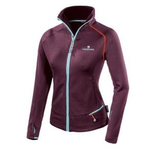 Women hoodie Ferrino Tailly Jacket Woman prune, Ferrino